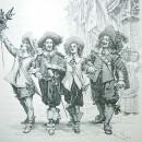 А. Дюма— «Три мушкетера»