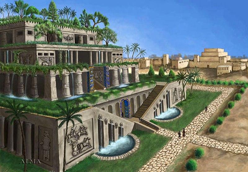 Висящие сады семирамиды